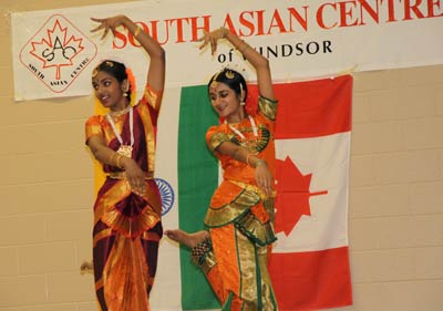 Indian classical dance performance, South Asian Village, Carrousel of Nations, June 2010